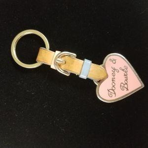Vintage Dooney & Bourke key chain